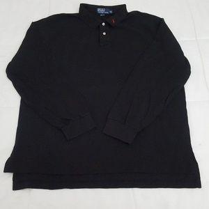 Polo Ralph Lauren Polo Shirt Mens XXL Black